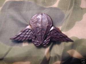 CISKEI Africa Airborne Parachutist beret Parachute Jump Wings Badge