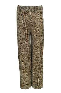 Melissa Snake Print Palazzo Trousers