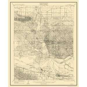 USGS TOPO MAP ANTIOCH QUAD CALIFORNIA (CA) 1908