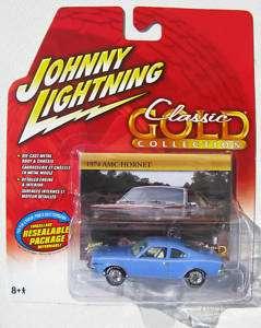 JOHNNY LIGHTNING R29 CLASSIC GOLD 1974 AMC HORNET