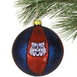 NCAA Arizona Wildcats Jumbo Collegiate Glass Basketball