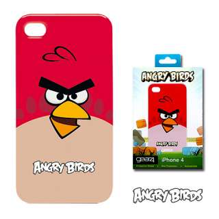 ICAB401 Angry Birds Case, Red Bird Apple® iPhone™ 4 from