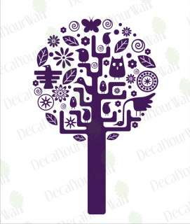 Nursery Baby Kids Room Tree Vinyl Wall Decal Sticker