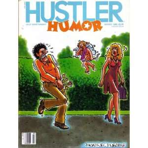 HUSTLER HUMOR MARCH 1986: HUSTLER MAGAZINE: Books