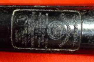 navy bakelite flashlight rare original world war two united states