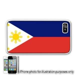 Philippines Flag Apple Iphone 4 4s Case Cover White