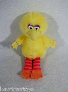 Sesame Street Big Bird 8 Plush toy Applause ernie bert oscar elmo zoe