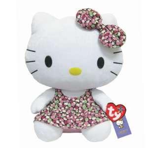 TY Beanie Buddy   Hello Kitty Liberty Arts Fabrics Exclusive BUDDY