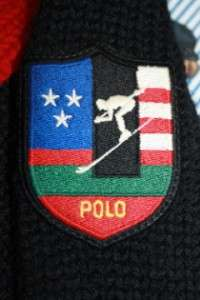 SUICIDE SKI RALPH LAUREN 100% Wool Turtleneck Sweater Suicide Skier M