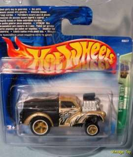 2004 Hot Wheels Treasure Hunt Morris Minor Wagon Short Card