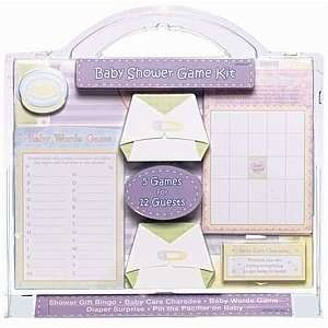 Baby Shower Party Games Kit   5 Games For 12 Guests