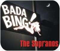 Bada Bing Sopranos Mouse Pad Mousepad Art Unique TV New