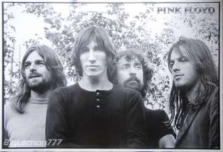 PINK FLOYD Group Music Poster 23.4x34.5
