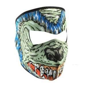Neoprene Hell Hound Design Full Face Mask Sports