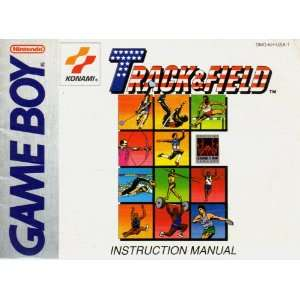 Track & Field GB Instruction Booklet (Game Boy Manual Only   NO GAME