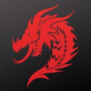 Tribal tattoo design Decal Sticker Dragon Art WRSZK
