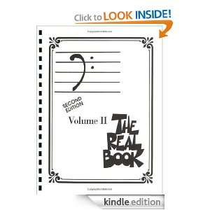 The Real Book   Volume II Bass Clef Edition 2 Hal Leonard Corp