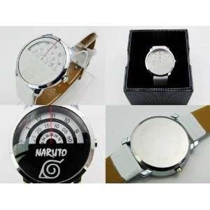Naruto Konoha Leaf Round Wrist Watch