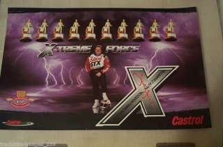Force Castrol 10 Time Funny Car Champion X Treme Force Poster