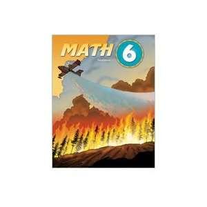 BJU Math 6 SET Student Worktext, Test Packet, Test Answer