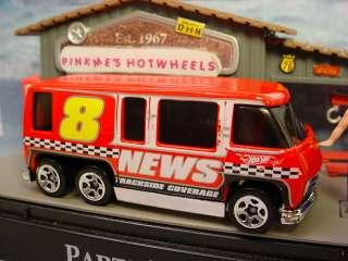 New 2011 Hot Wheels Stock Car GMC MOTORHOME★RED★News