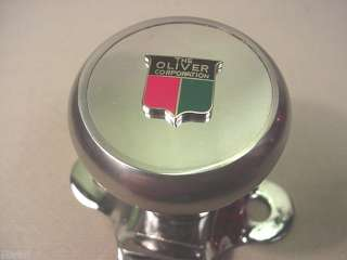 OLIVER HEAVY DUTY DELUXE TRACTOR STEERING WHEEL KNOB