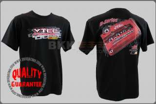 HONDA JDM ENGINE CIVIC MUGEN MOTOR RACING K20 BLACK T SHIRT vtec SIZE