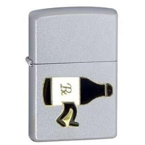 Zippo Custom Lighter   Novelty Funny Humor Alcohol Beer Bottle Is the
