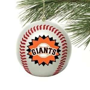 San Francisco Giants Mini Baseball Ornament