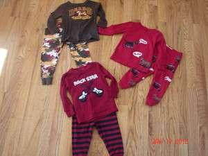Gymboree TCP 3 sets Baby boys pajamas EUC 12 18 months