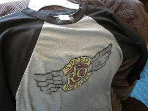 REO Speedwagon Concert Tour Shirt autographed Rare Vintage