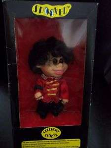 MIchael Jackson Celebrity Spoofs Doll Vintage Mid 80s