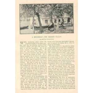 1901 Houseboats Tomoka River Indian River Thames River