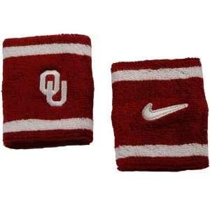 Nike Oklahoma Sooners Elite NCAA Team Logo Wristbands