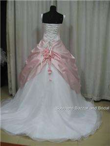 Color Wedding Dress/Ball Gown 6,8,10,12,18,20 plus size