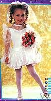 BALLERINA BRIDE GIRLS HALLOWEEN/DRESS UP COSTUME