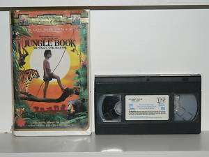 The Second Jungle Book Mowgli and Baloo (VHS) 043396493308