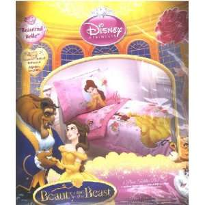4 piece Toddler Bedding Bed Set Disney Princess Beautiful