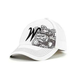 Top of the World NCAA Big Ego Whiteout Cap Hat
