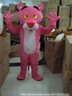 Pink Panther Cartoon Mascot Costume Fancy Dress EPE