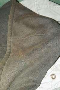 Mens Harley Davidson Grey Canvas Jacket w/ Zip Out Hoodie Vest Sz