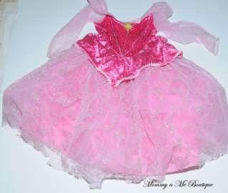 Disney World Princess Sleeping Beauty Costume 6 6X