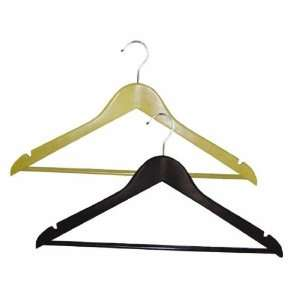 /Seymour 8654WN2.18 Homz Wood Suit Clothes Hanger