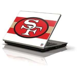 San Francisco 49ers Retro Logo Flag skin for Apple MacBook