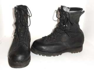 Belleville Mens Black Gortex Leather Boots Vibram Sole Size 9 XW