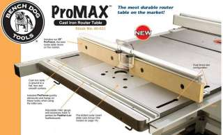 BENCH DOG 40 102 PRO MAX CAST IRON ROUTER TABLE EXTENSI