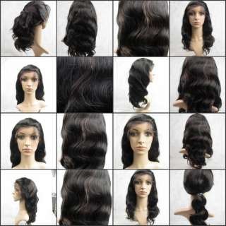 1b/33 India Remy Human Hair Lace Wigs Body Wave PERFECT