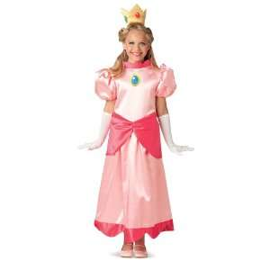 Lets Party By Rubies Costumes Super Mario Deluxe Princess Peach Child