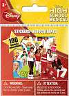 sandylion high school musical 100 party favor stickers one day