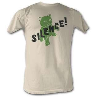 Licensed Nacho Libre Silence Adult Shirt S 2XL